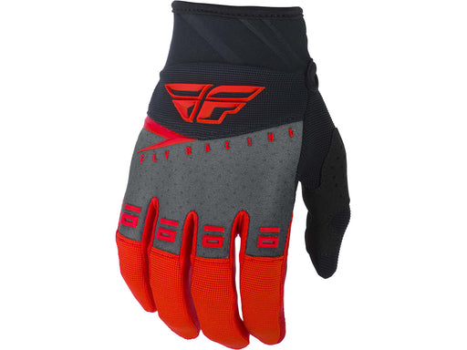 FLY RACING 2019 F-16 GLOVES-Red/Black/Grey