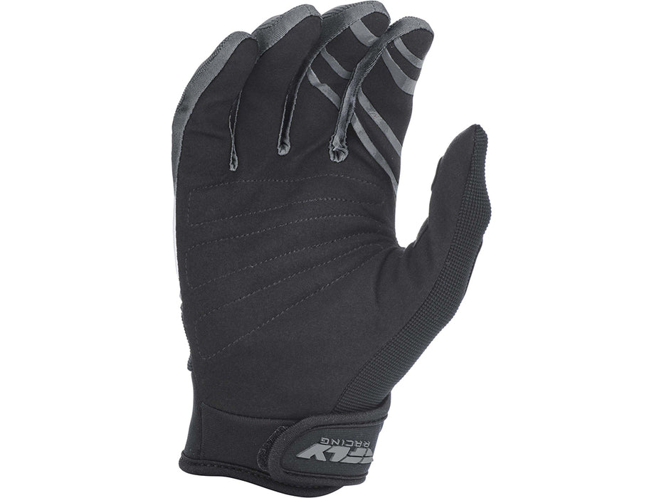 FLY RACING 2019 F-16 GLOVES-Black/White/Grey