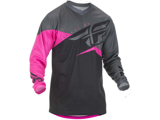 FLY RACING 2019 F-16 JERSEY-Neon Pink/Black/Grey