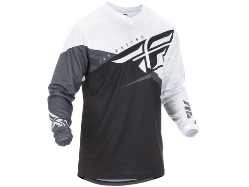 FLY RACING 2019 F-16 JERSEY-Black/White/Grey
