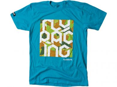 FLY Block Party T-Shirt | TURQUOISE