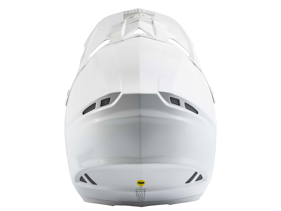 FLY RACING 2019 F2 Carbon MIPS Helmet-Solid White