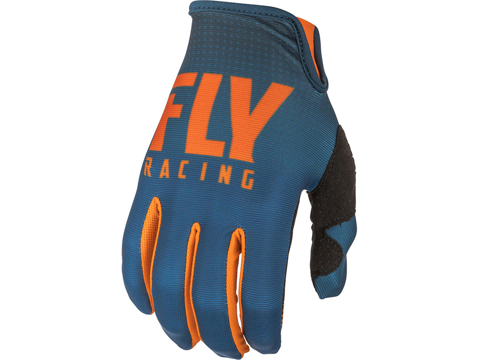 FLY RACING 2019 Lite Gloves-Orange/Navy