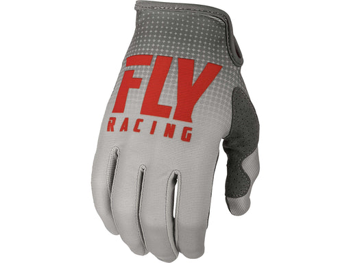FLY RACING 2019 Lite Gloves-Red/Grey