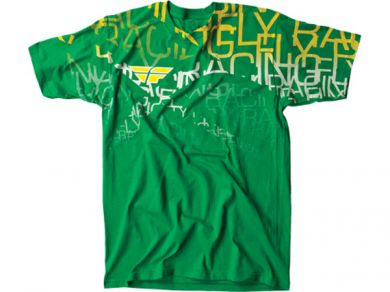 FLY Wire T-Shirt | GREEN