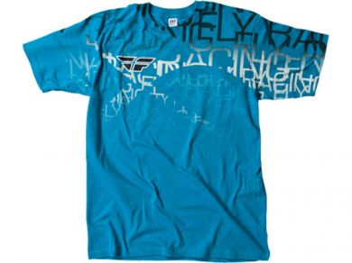 FLY Wire T-Shirt | TURQUOISE