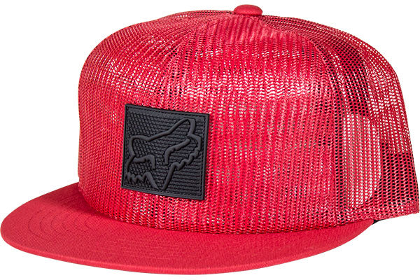 Fox Implication Snapback Hat-Red