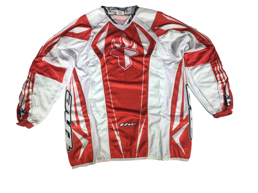 T.H.E. Sport Long Sleeve Jersey-Red