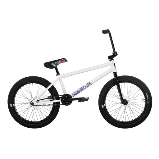 "Subrosa 2020 Novus Burnett 21""TT BMX Bike-Gloss White"
