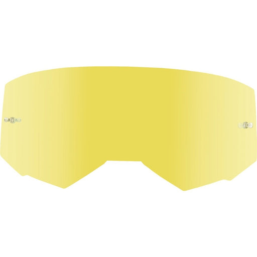 Fly Racing 2019 Zone/Focus Goggles Replacement Lenses-Gold Mirror/Smoke