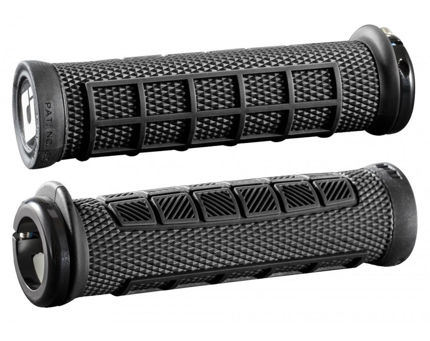 ODI Elite Pro Lock-on BMX Grips - Black/ Black