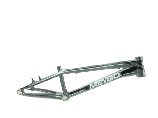 Meybo 2018 Holeshot Aluminum BMX Race Frame - Matte Grey/Light Grey/Black