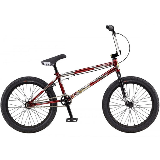 "GT 2019 BK Team Signature 21""TT BMX Bike-Red"