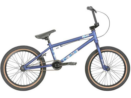 Haro 2019 Downtown 18 Bike-Matte Blue Side View