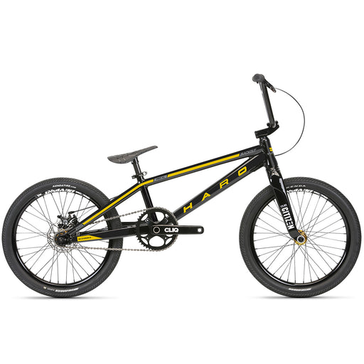 "2019 HARO ANNEX JUNIOR 18.3 GLOSS BLACK COMPLETE BMX RACING BIKE 18.3/"" RACE"