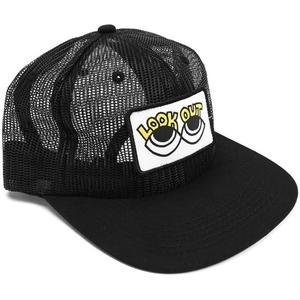 Cult Look Out Mesh Hat-Black