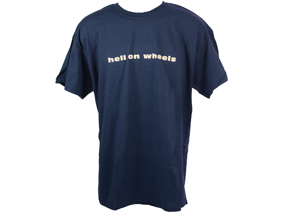 Play Hell on Wheels T-Shirt-Navy