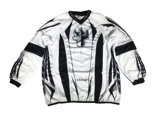 T.H.E. Sport Long Sleeve Jersey-White