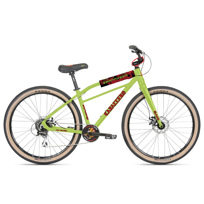 "Haro Caballero 18"" BMX Freestyle Bike-Lime Green"