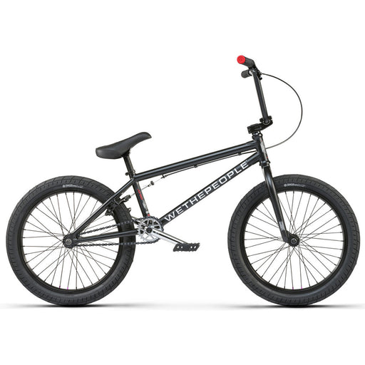 "We The People 2021 CRS  20.25""TT BMX Freestyle Bike-Matte Black"