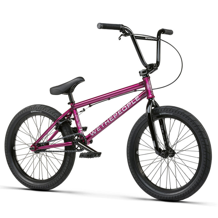 "We The People 2021 CRS - RSD FC 20.25""TT BMX Freestyle Bike-Translucent Berry Blast"