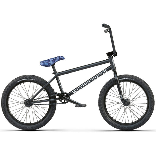 "We The People 2021 Crysis 21""TT BMX Freestyle Bike-Matte Black"