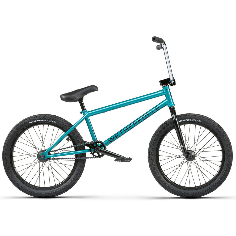 "We The People 2021 Crysis 20.5""TT BMX Freestyle Bike-Midnight Green"