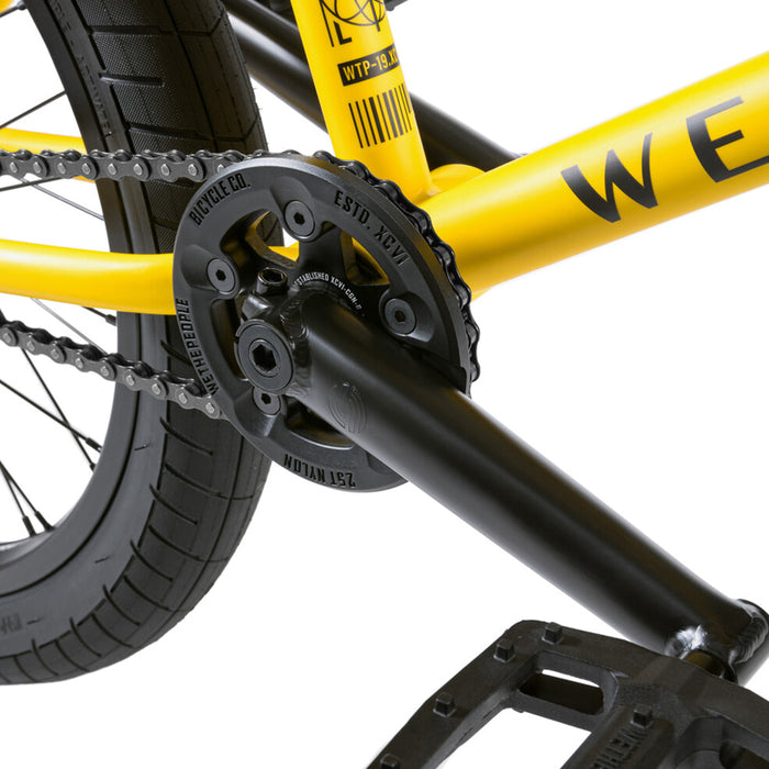 "We The People 2021 Justice 20.75""TT BMX Freestyle Bike-Matte Taxi Yellow"