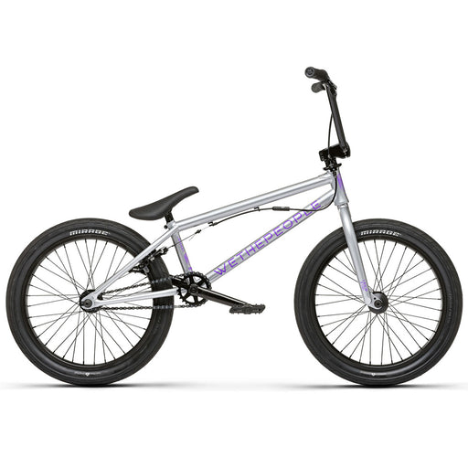"We The People 2021 Versus 20.65""TT BMX Freestyle Bike-Hologram Silver"