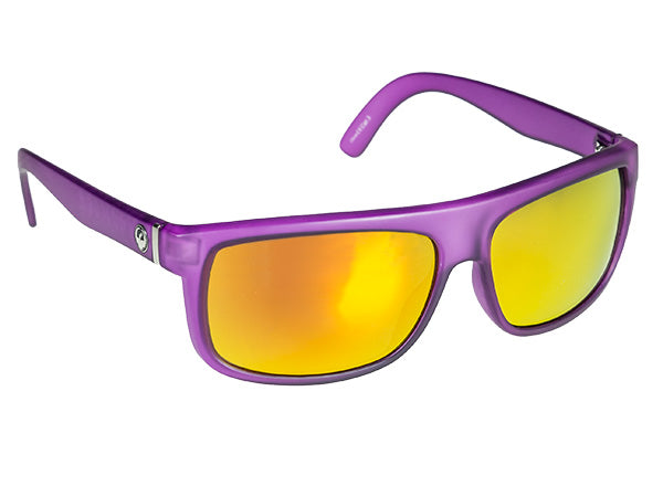 Dragon Wormser Sun Glasses-Purple Crystal Red Ion