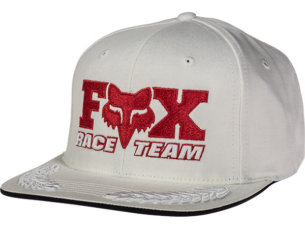 Fox Daytona Retro Hat | White/Red-Snapback