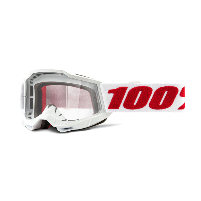 100% Accuri2 Youth Goggles-Denver-Clear Lens