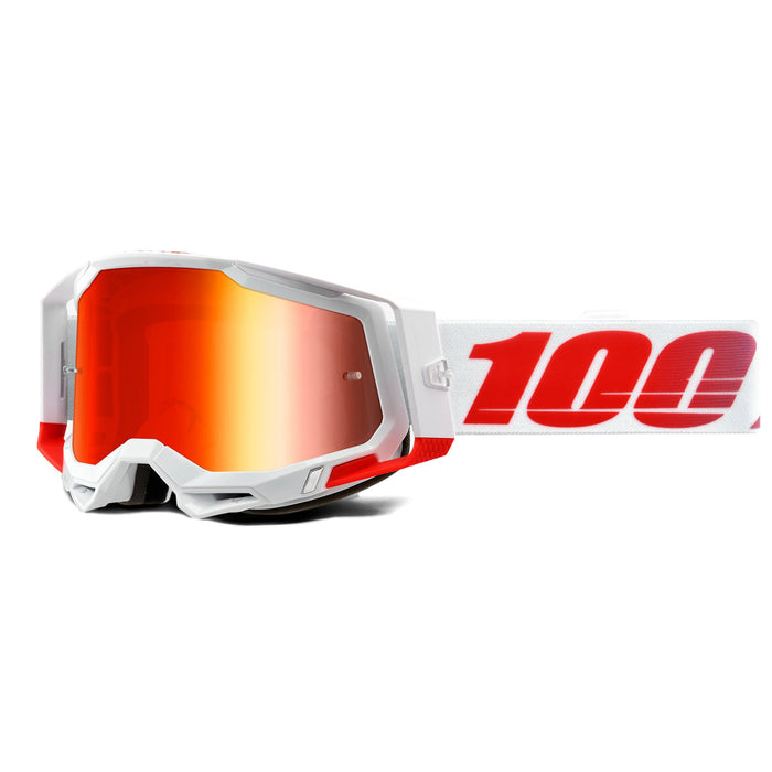 100% Racecraft2 Goggles-St-Kith-Mirror Red Lens