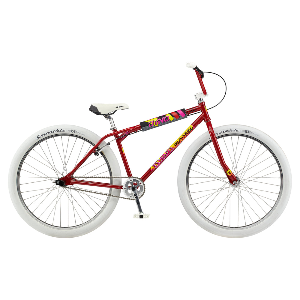 "GT 2021 Dyno Compe Pro Heritage 29"" BMX Bike-Red"