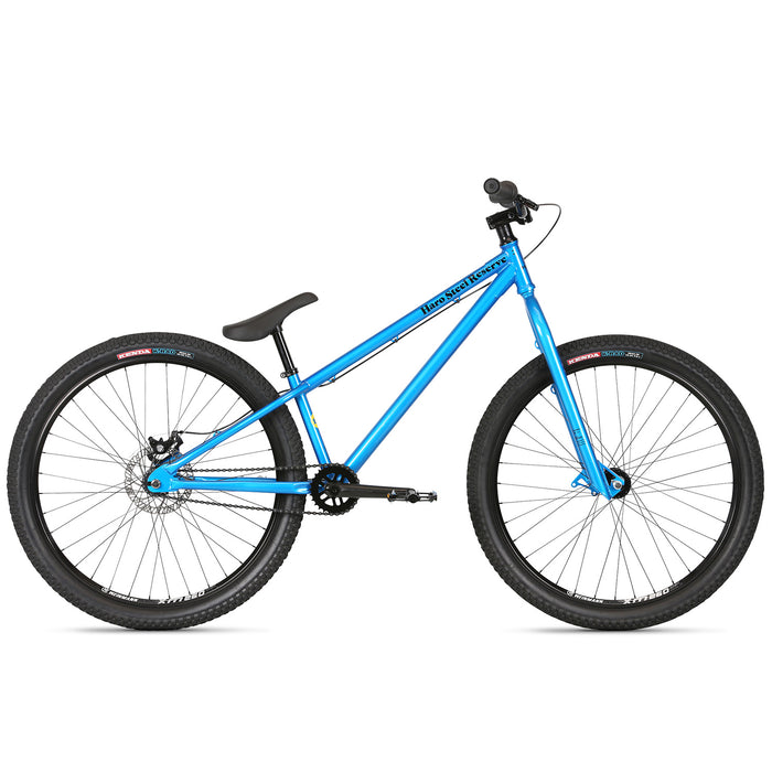 "Haro Steel Reserve 1.1 26"" BMX Dirt Jump Bike-Bali Blue"