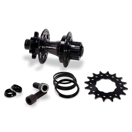 Answer Expert Disc Brake Hub-28H-Black