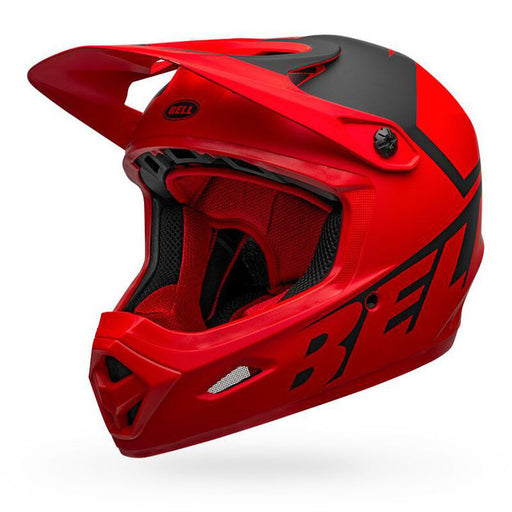 Bell Transfer Helmet-Slice Matte Red/Black