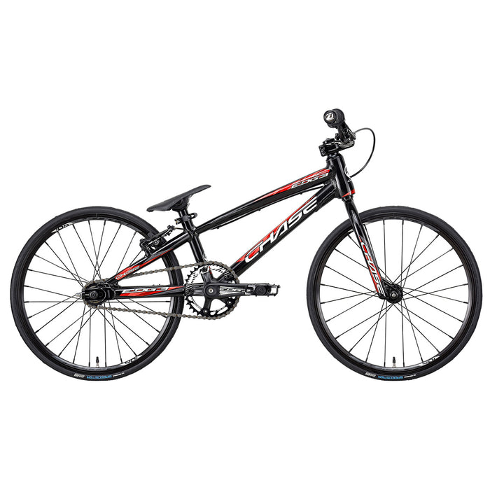 Chase 2021 Edge Micro BMX Race Bike-Black/Red