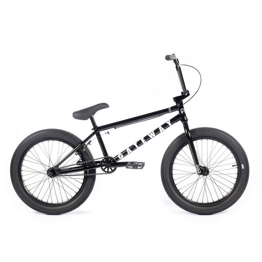 "Cult 2021 Gateway 20.5""TT BMX Freestyle Bike-Matte Black"