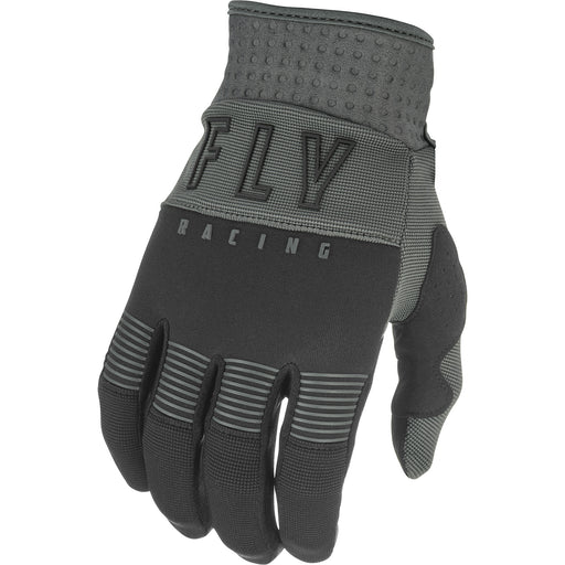 Fly Racing F-16 BMX Race Gloves-Black/Grey