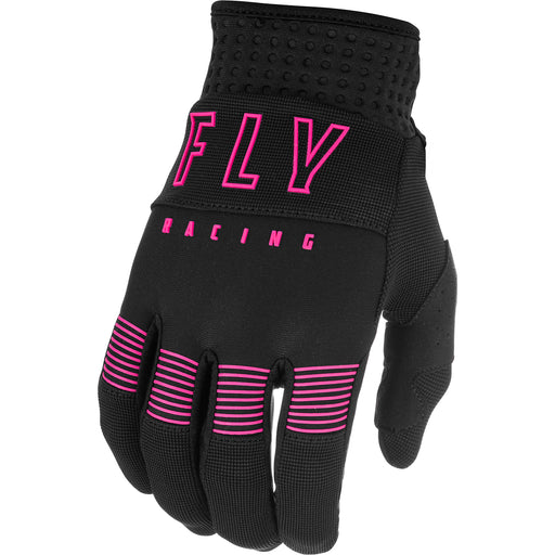 Fly Racing F-16 BMX Race Gloves-Black/Pink
