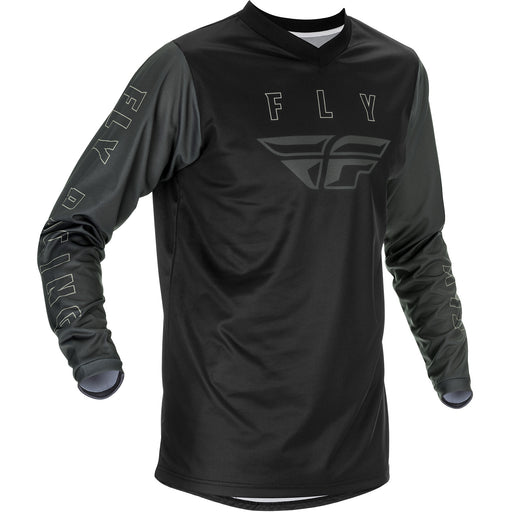 Fly Racing F-16 BMX Race Jersey-Black/Grey