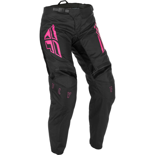 Fly Racing F-16 Women's BMX Race Pants-Black/Pink