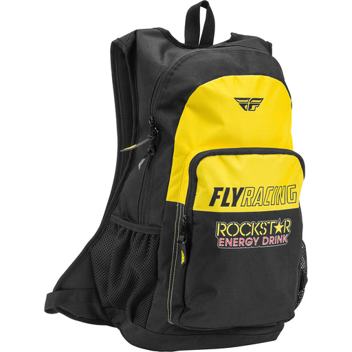 Fly Racing Jump Pack Rockstar Backpack-Black/Yellow