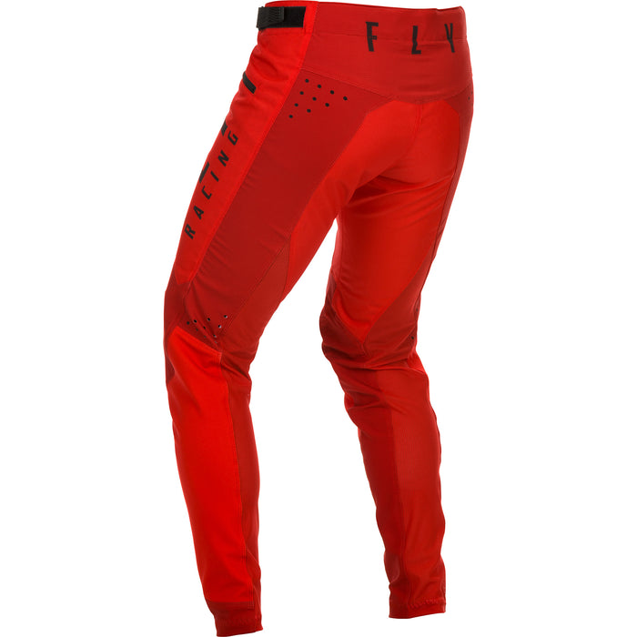 Fly Racing Kinetic Bicycle BMX Pants-Red