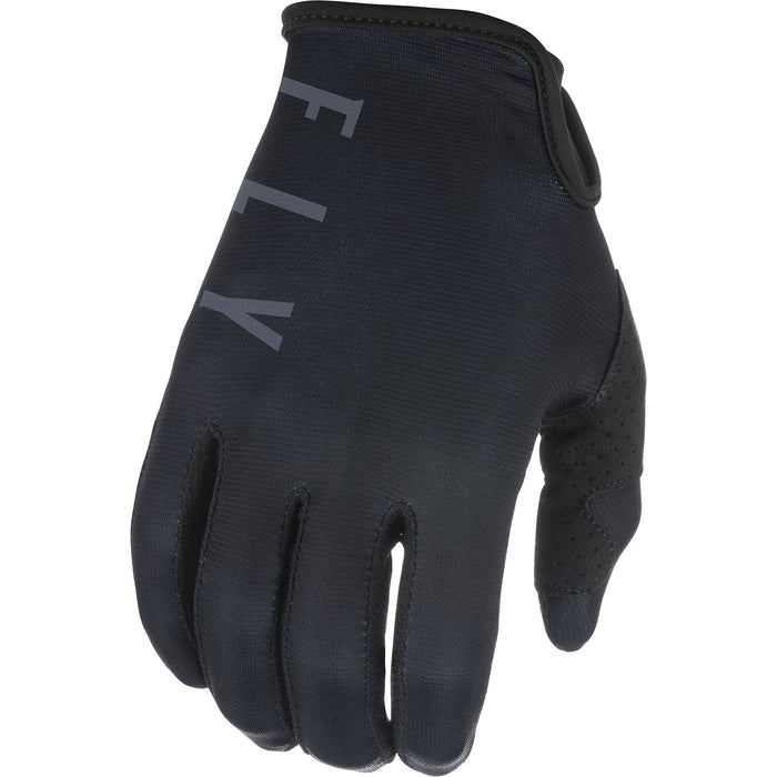 Fly Racing Lite BMX Race Gloves-Black/Grey