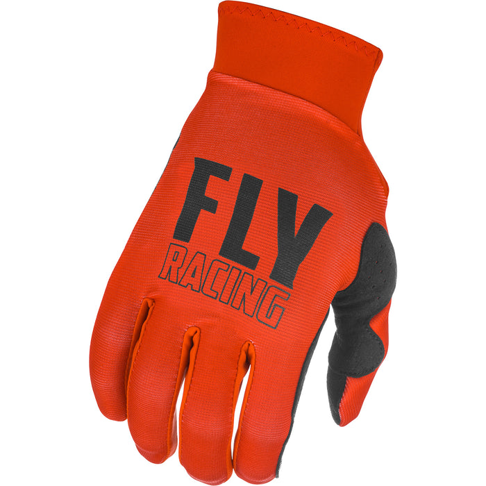 Fly Racing Pro Lite BMX Race Gloves-Red/Black