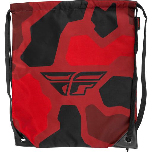 Fly Racing Quick Draw Bag-Red/Black Camo