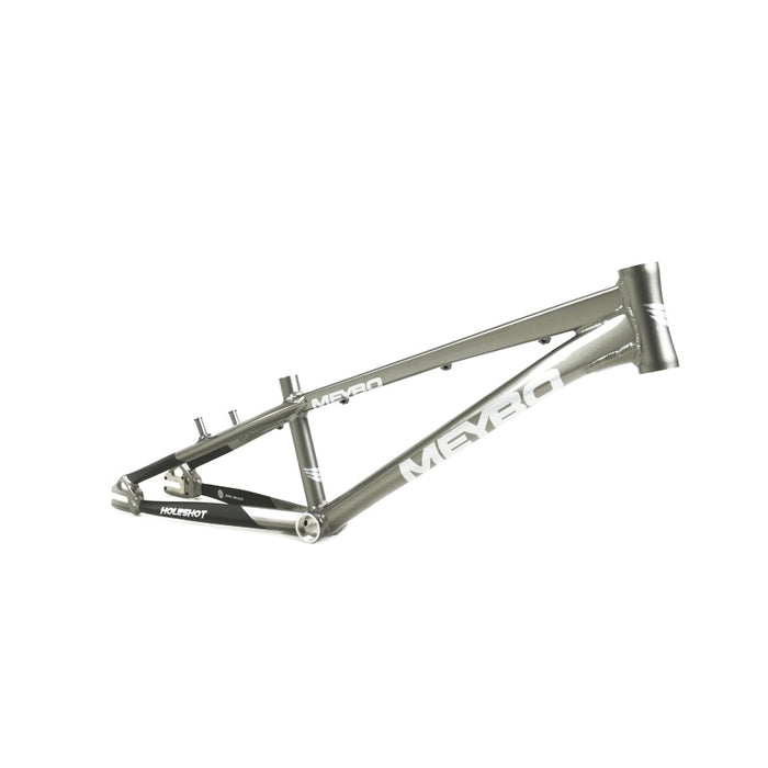 Meybo Holeshot BMX Race Frame-Grey/Light Grey/Black