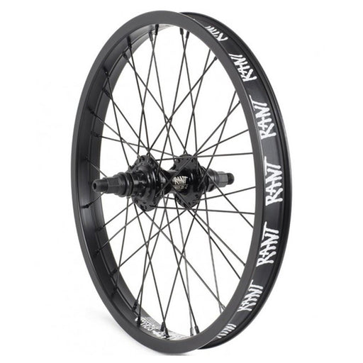 "Rant Party On V2 18"" Rear Cassette Wheel-36H-9T"